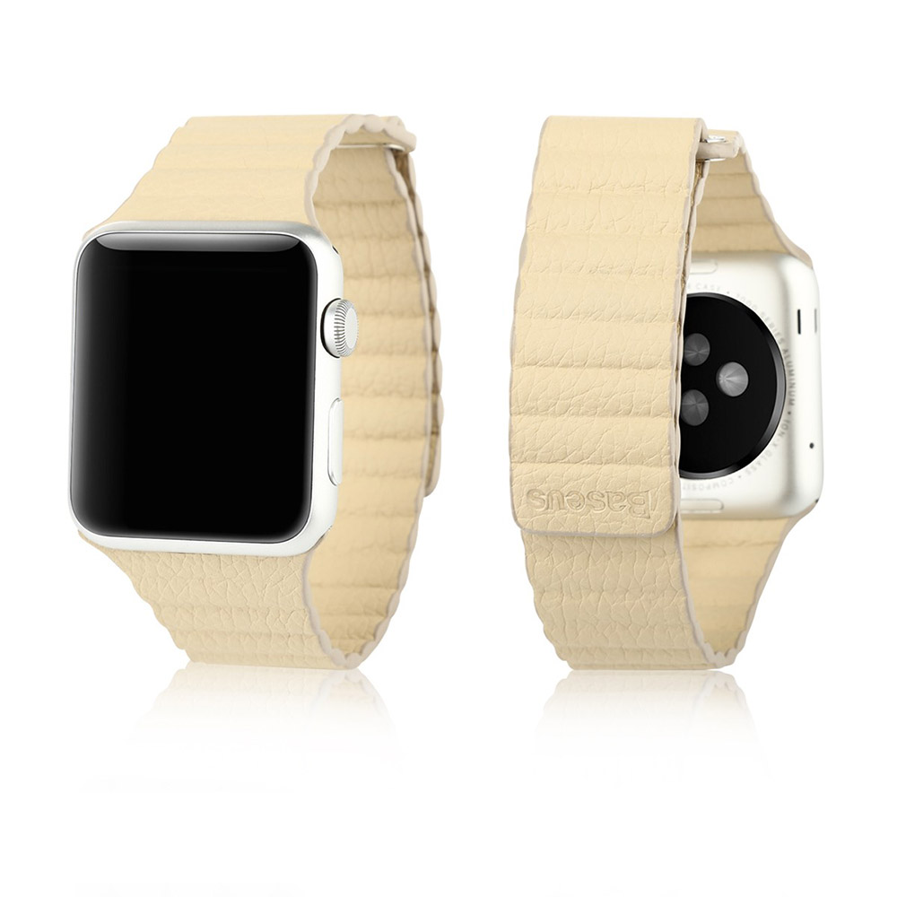 Baseus Back Series For Apple Watch 42mm Khaki