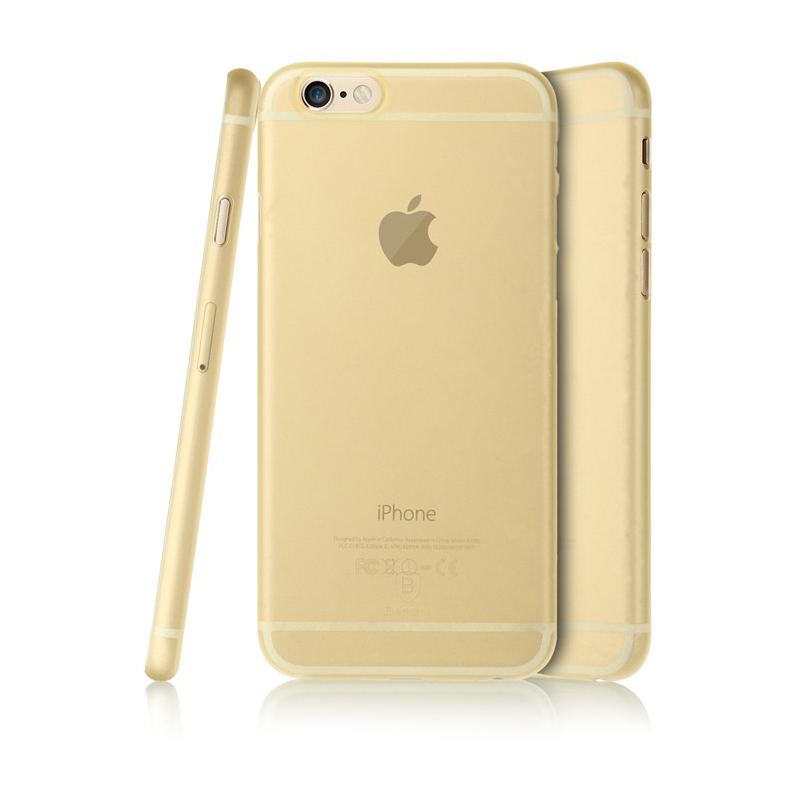 Baseus Slender Series For iPhone 6 Plus/iPhone 6S Plus Gold (WIAPIPH6SP-SI0V)