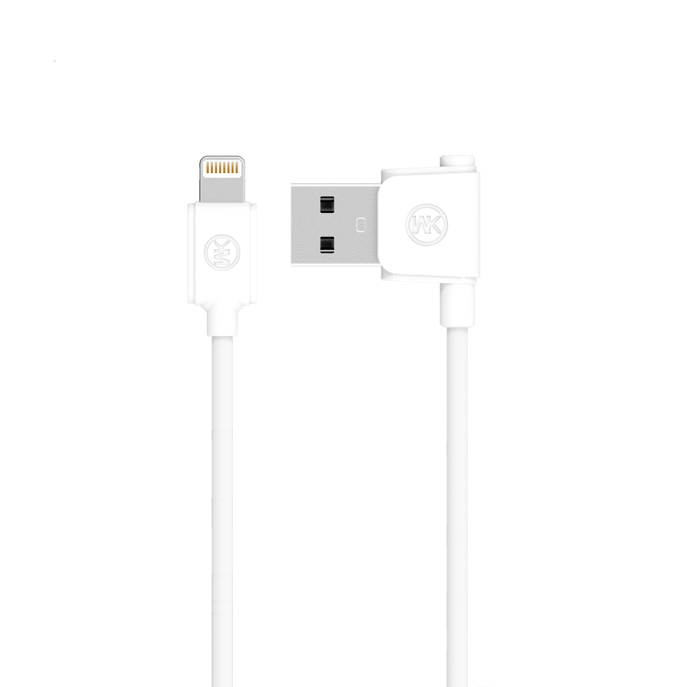 WK Junzi Lightning Data Cable White (WKC-006)