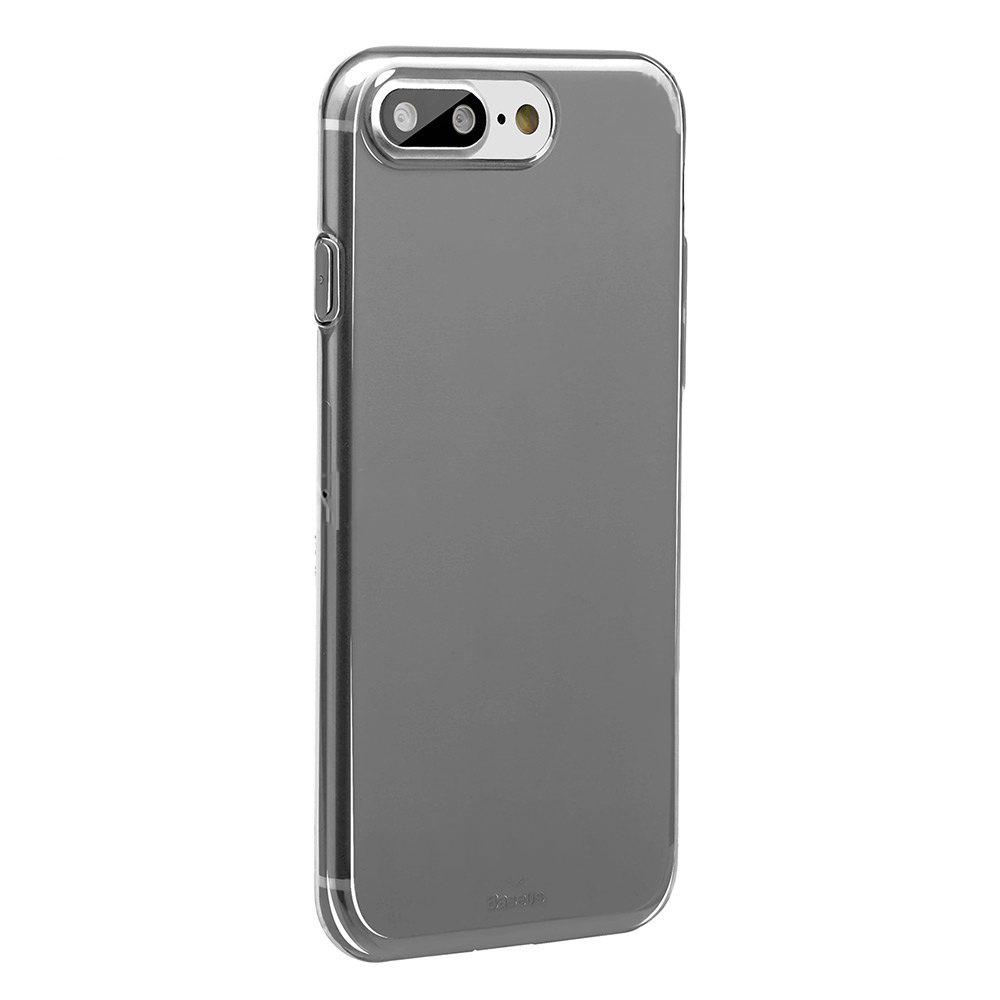 Baseus Simple Series Case (Clear) For iPhone 7 Plus Transparent Black