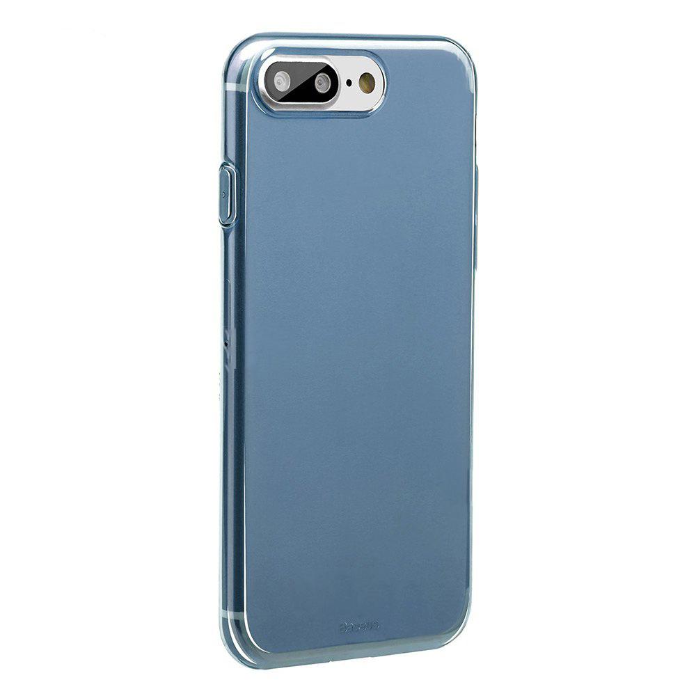 Baseus Simple Series Case (Clear) For iPhone 7 Plus Transparent Blue