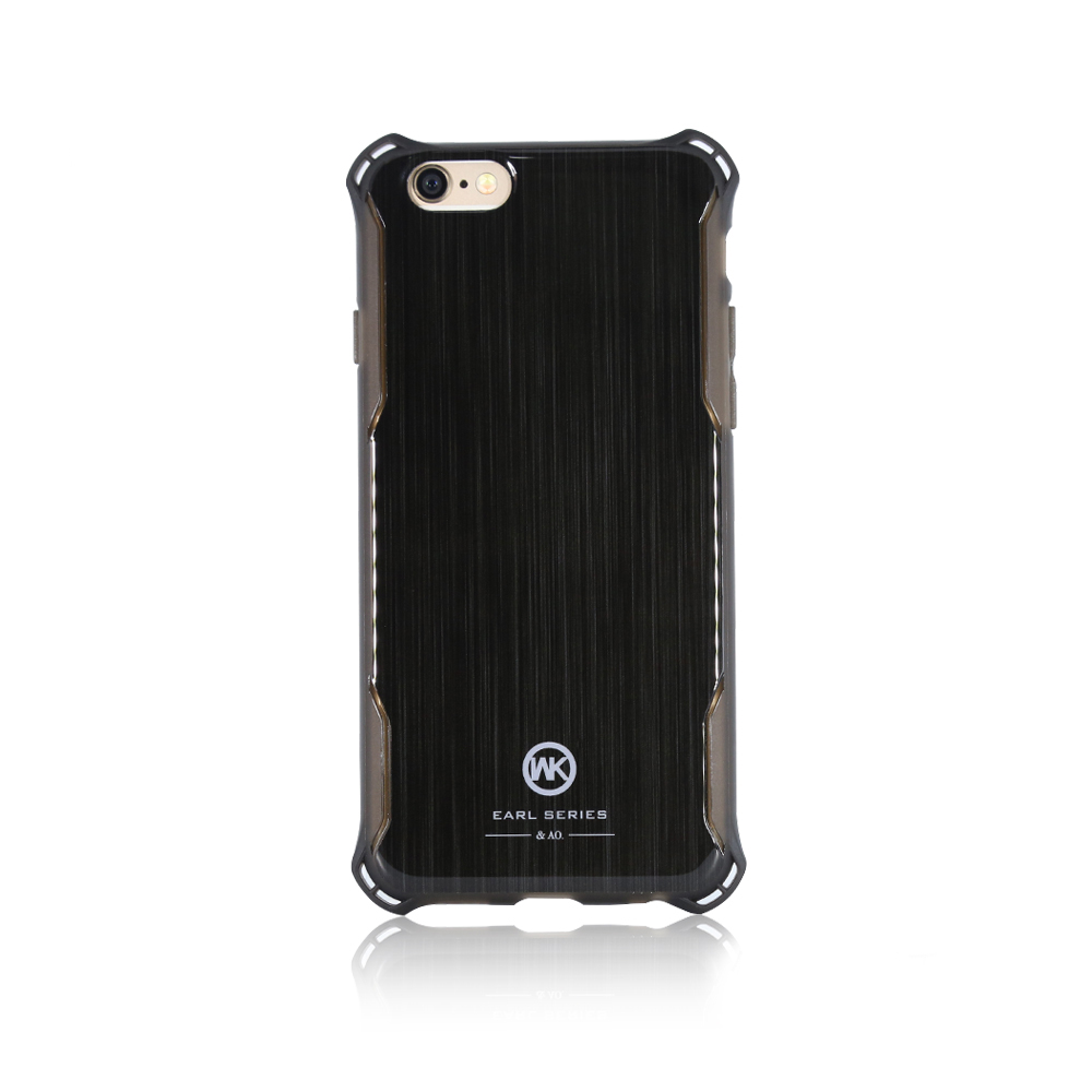 WK Earl Black Case for iPhone 7/8/SE 2020 (WPC-011)
