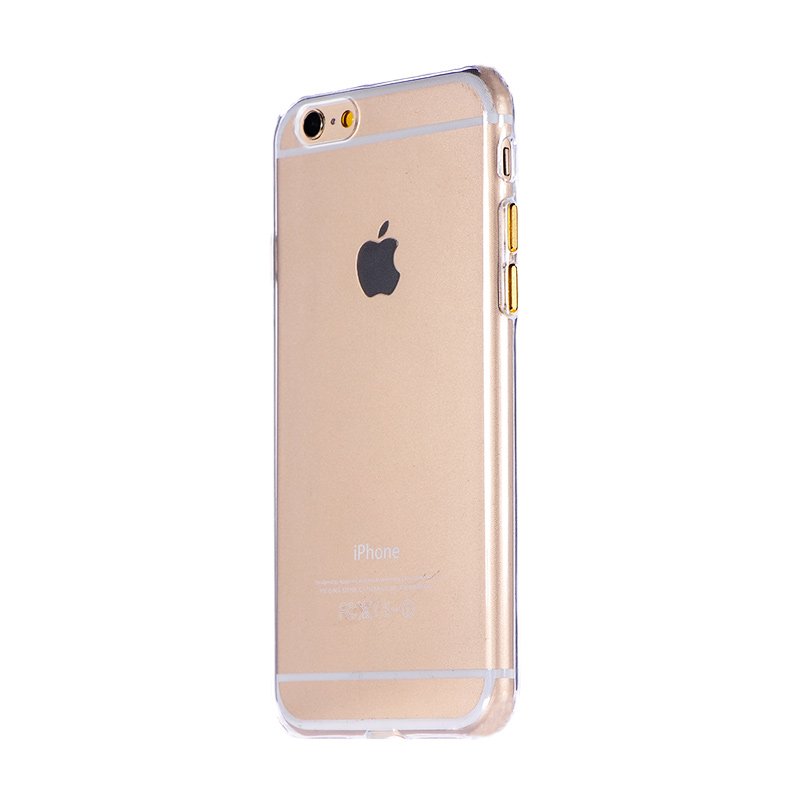 COTEetCI Utra-thin TPU Metal buttons for iPhone 7/8/SE 2020 Gold