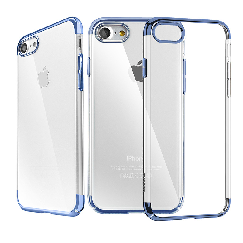 Baseus Shining Case (TPU) For iPhone 7/8/SE 2020 Dark Blue