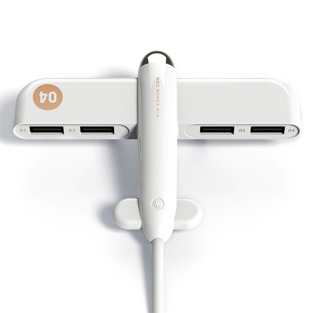 3Life Airplane USB HUB White