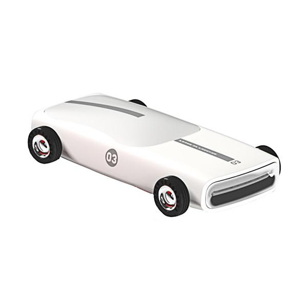 3Life Car Power Bank 6500mAh White