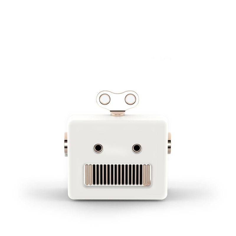 3Life Robot Bluetooth Speaker White