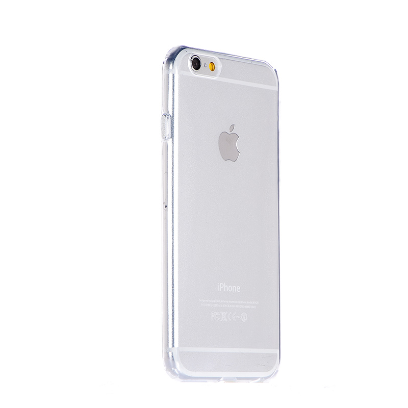 COTEetCI Utra-thin TPU Metal buttons for iPhone 7/8/SE 2020 Silver (CS7006-TS)