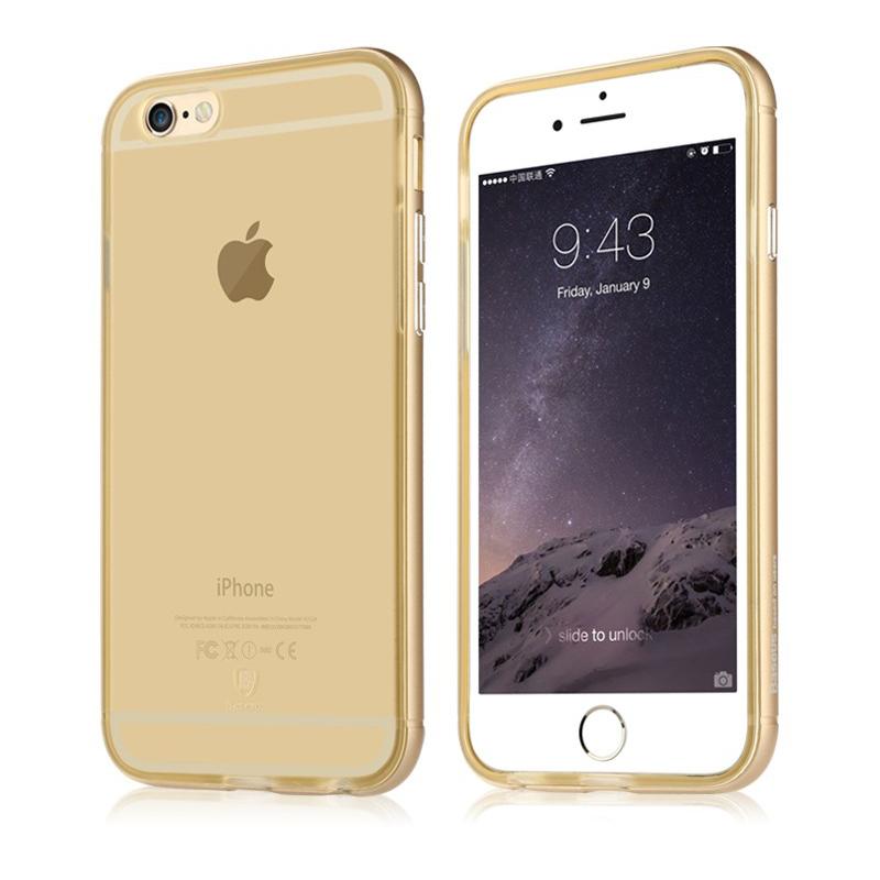 Baseus Golden Series For iPhone 6 Plus/iPhone 6S Plus Transparent Gold