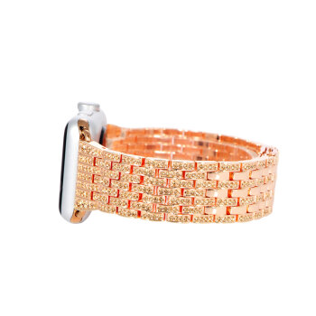 COTEetCI W4 Magnificent Watchband For Apple Watch 42mm Rose Gold