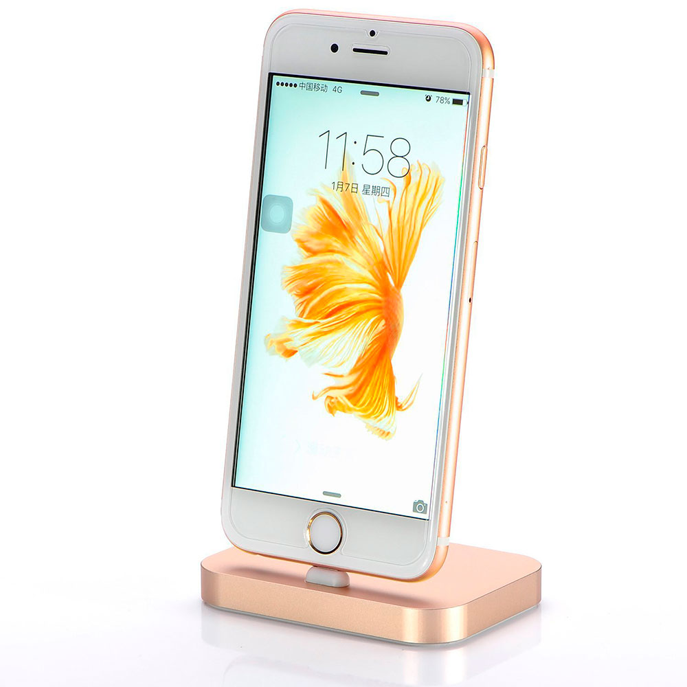 COTEetCI Base8 iPhone Stand Gold
