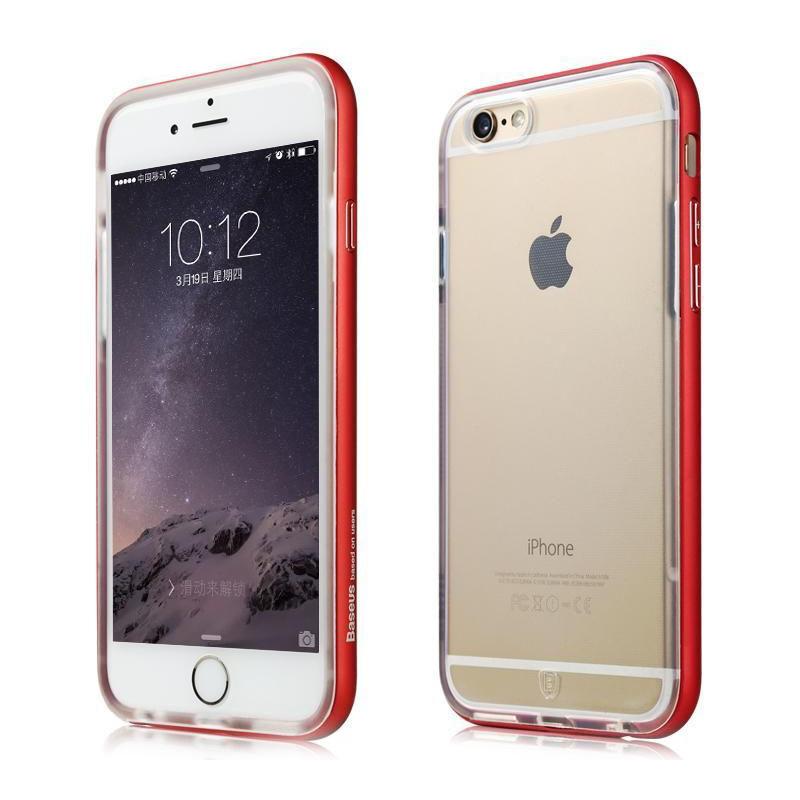 Baseus Fusion Dark Red For iPhone 6 Plus/6S Plus
