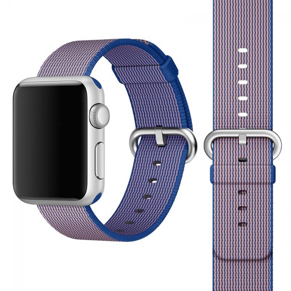 Coteetci W11 Nylon Band Purple for Apple Watch 38mm (WH5213-PR)