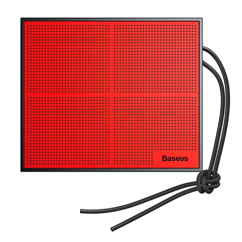 Baseus Encok Music-Cube Wireless Speaker E05 Red+ Black (NGE05-91)