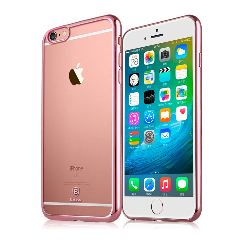 Baseus Shining case For iPhone 6 Plus/iPhone 6S Plus Rose Gold