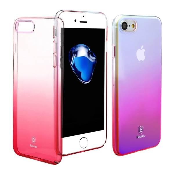 Baseus Glaze Case iPhone 7/8/SE 2020 Pink (WIAPIPH7-GC04)