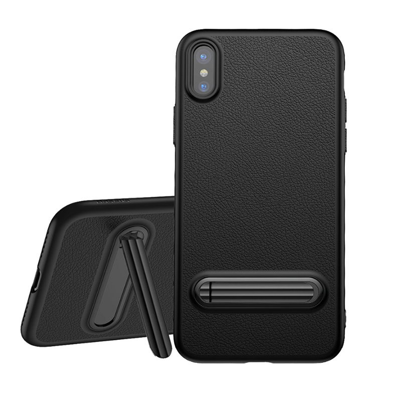 Baseus Happy Watching Supporting Case For iPhone X/XS Black (WIAPIPH8-LS01)