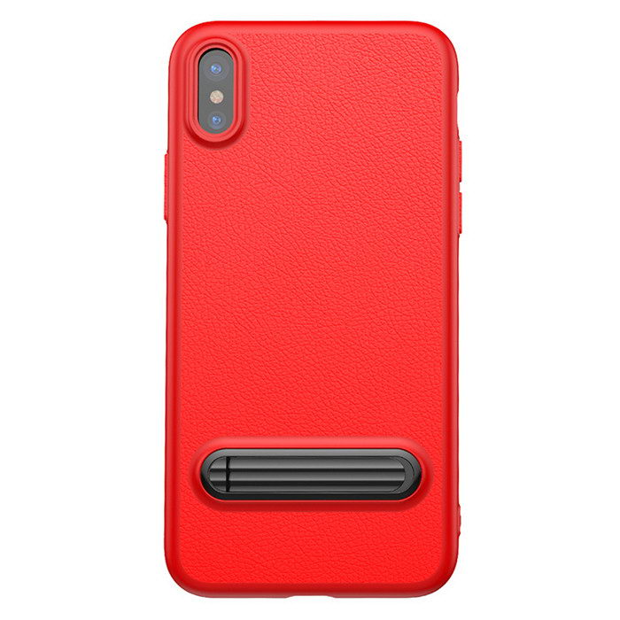 Baseus Happy Watching Supporting Case For iPhone X/XS Red (WIAPIPH8-LS09)