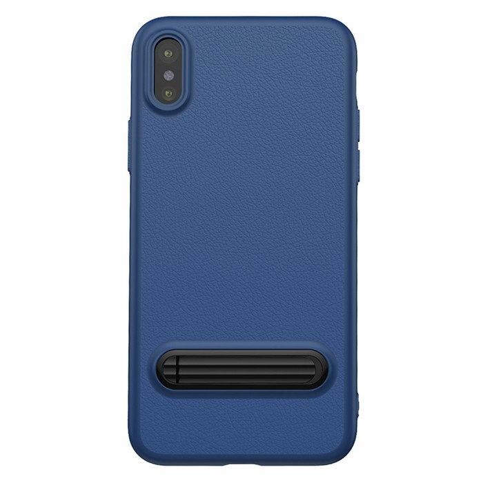 Baseus Happy Watching Supporting Case For iPhone X/XS Royal Blue (WIAPIPH8-LS15)