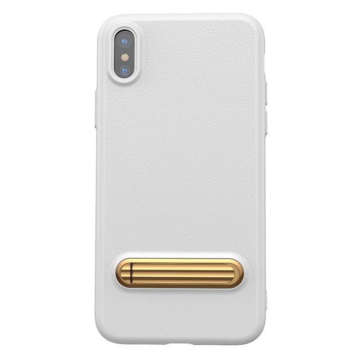 Baseus Happy Watching Supporting Case For iPhone X/XS White (WIAPIPH8-LS02)