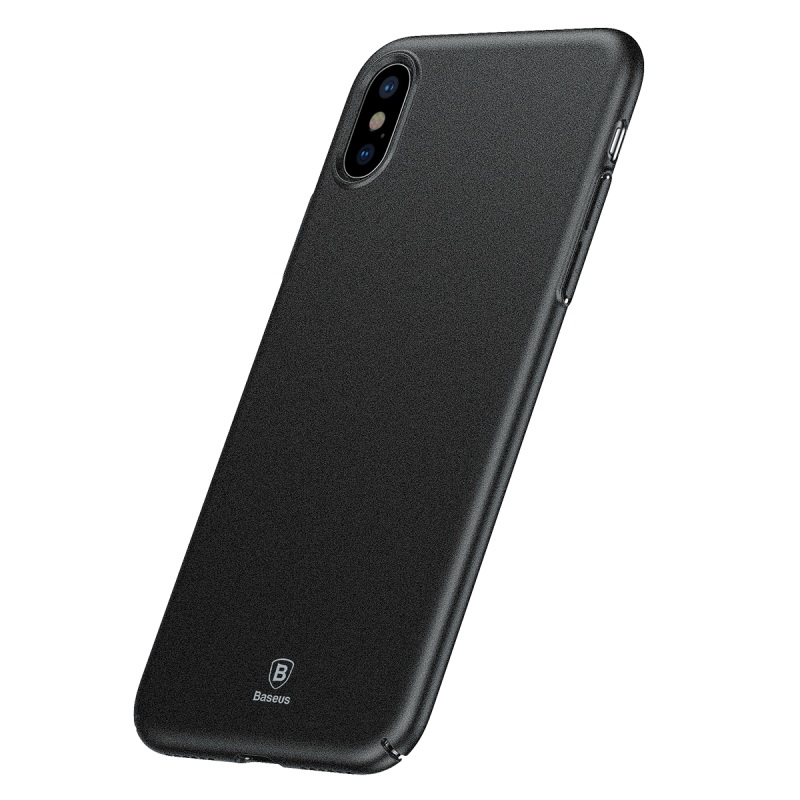 Baseus Meteorite Case Black For iPhone X (WIAPIPHX-YU01)