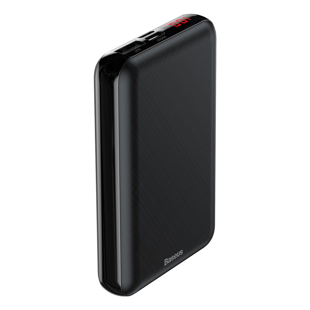 Baseus Mini S Digital Display Powerbank 10000mAh PD Edition Black (PPALL-XF01)