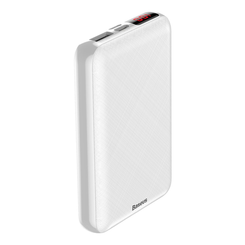 Baseus Mini S Digital Display Powerbank 10000mAh PD Edition White (PPALL-XF02)
