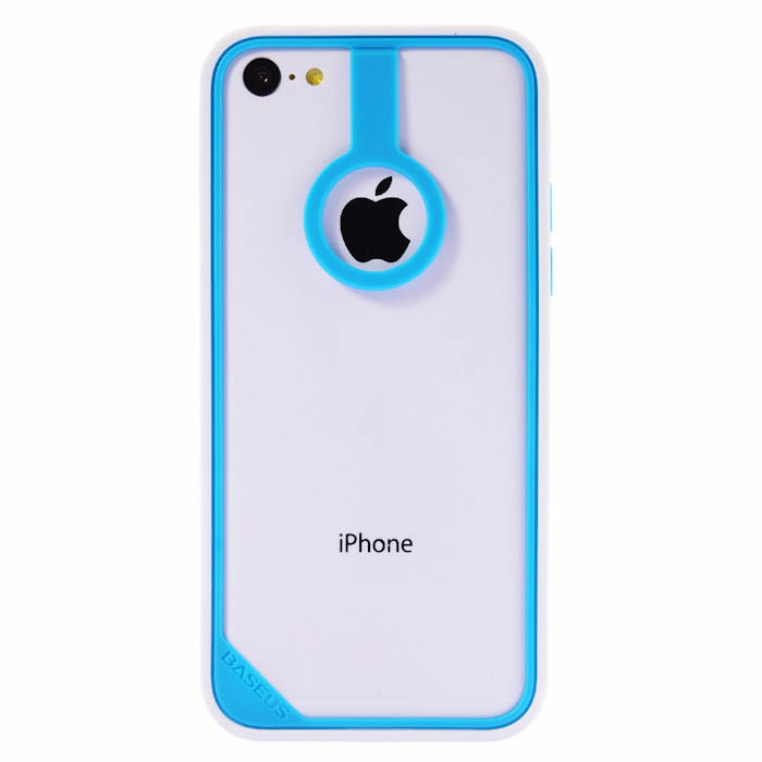 BASEUS New Age Bumper Blue/White for iPhone 5C