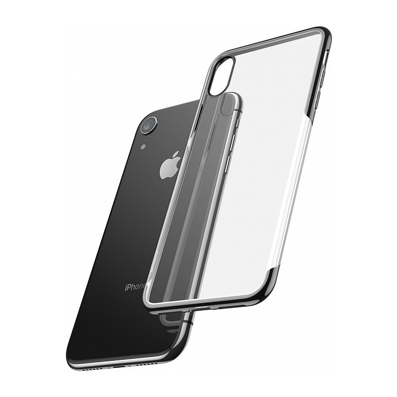 Baseus Shining Case For iPhone XR Black (ARAPIPH61-MD01)