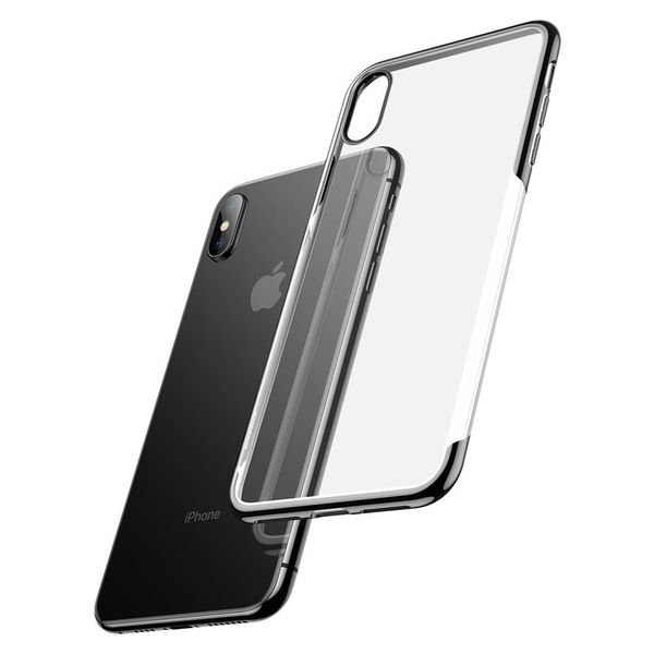 Baseus Shining Case For iPhone XS Max Black (ARAPIPH65-MD01)