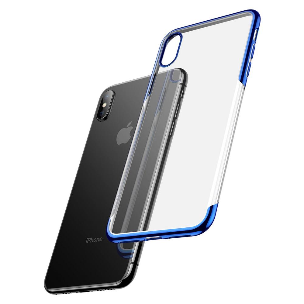 Baseus Shining Case For iPhone XS Blue (ARAPIPH58-MD03)