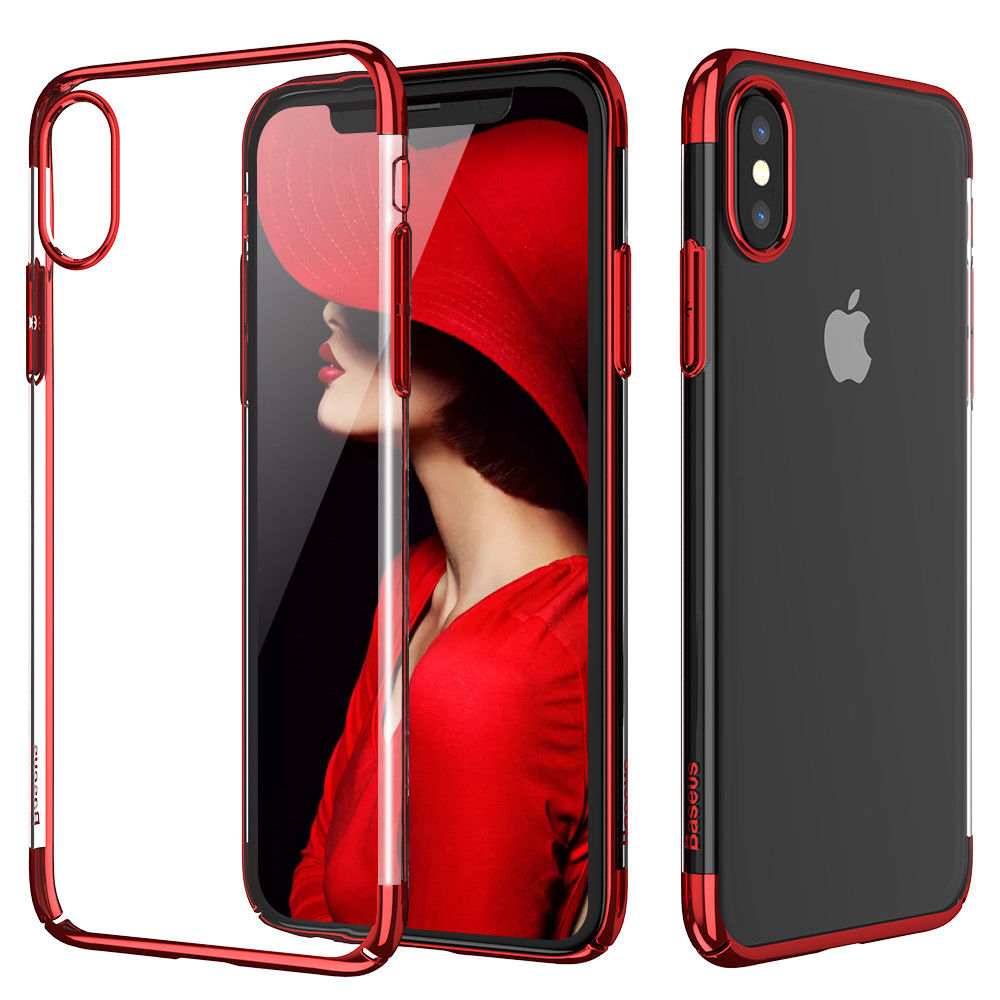 Baseus Shining Case For iPhone XS Max Red (ARAPIPH65-MD09)