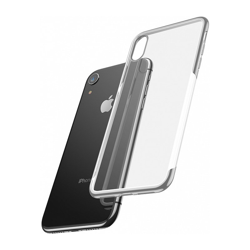 Baseus Shining Case For iPhone XR Silver (ARAPIPH61-MD0S)