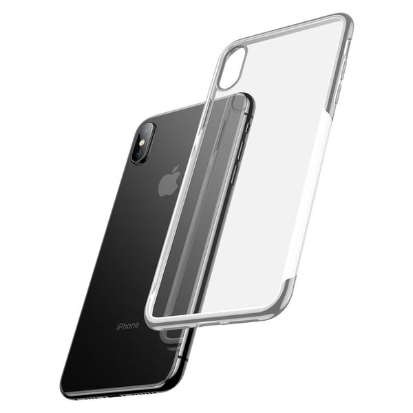 Baseus Shining Case For iPhone XS Max Silver (ARAPIPH65-MD0S)