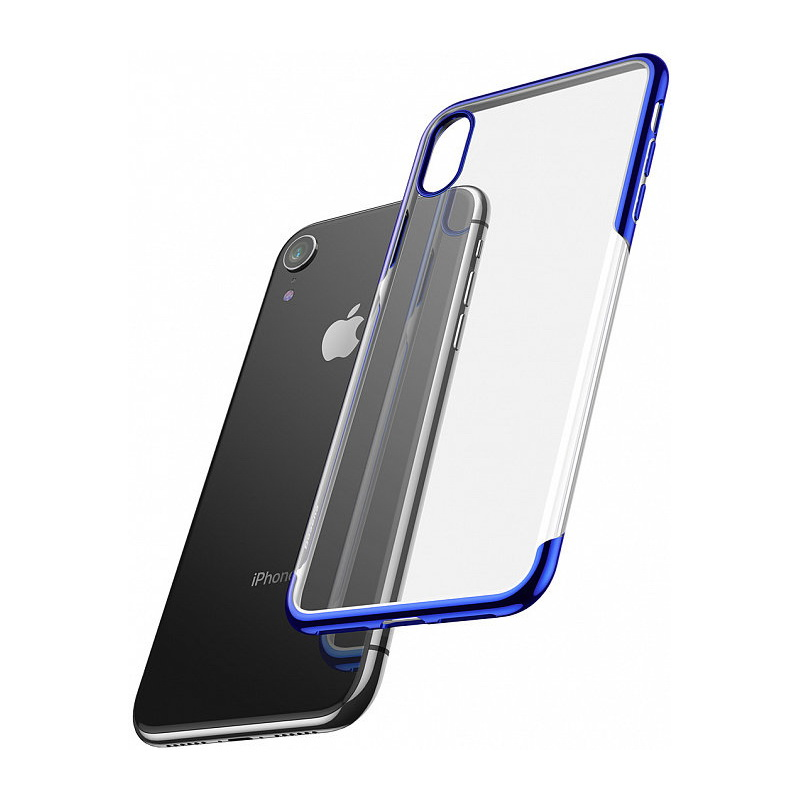 Baseus Shining Case For iPhone XR Blue (ARAPIPH61-MD03)
