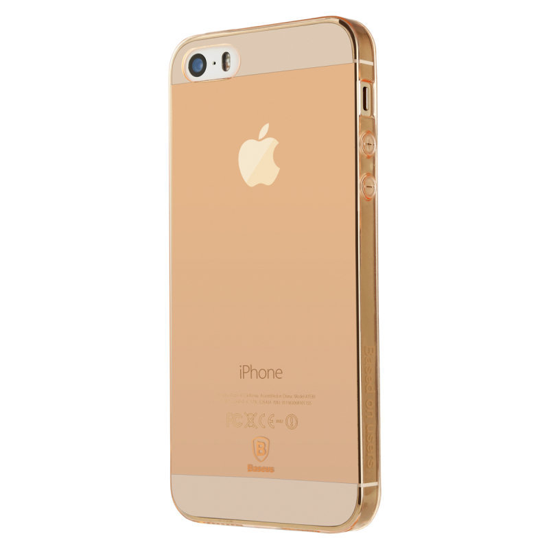 Baseus Simple Case For iPhone 5/5s/SE Rose Gold