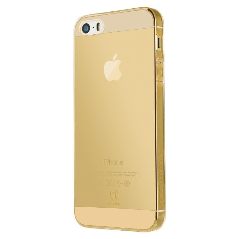 Baseus Simple Case For iPhone 5/5s/SE Gold