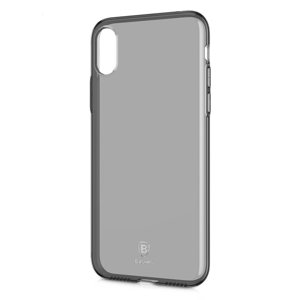 Baseus Simple Series Case Transparent Black For iPhone X/XS