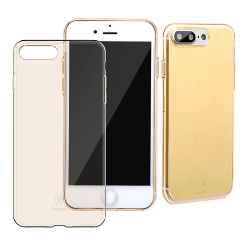 Baseus Simple Series Case (Clear) For iPhone 7 Plus Transparent Gold