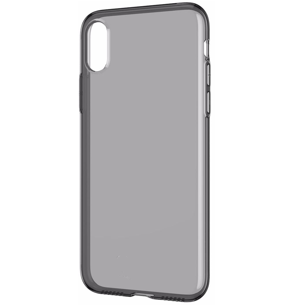 Baseus Simplicity Series (basic model) For iPhone XS Max Transparent Black (ARAPIPH65-B01)