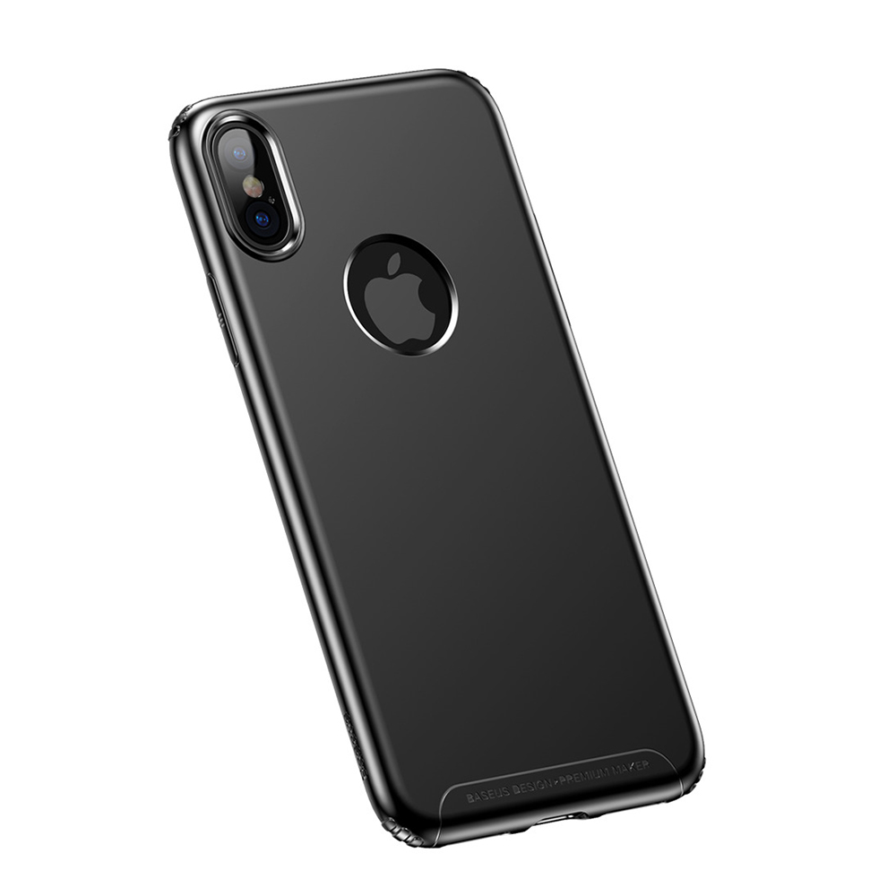 Baseus Soft Case Black For iPhone X (WIAPIPHX-SJ01)
