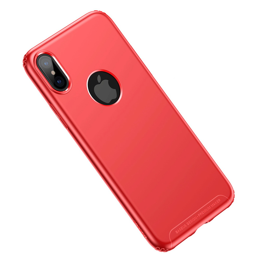 Baseus Soft Case Red For iPhone X (WIAPIPHX-SJ09)