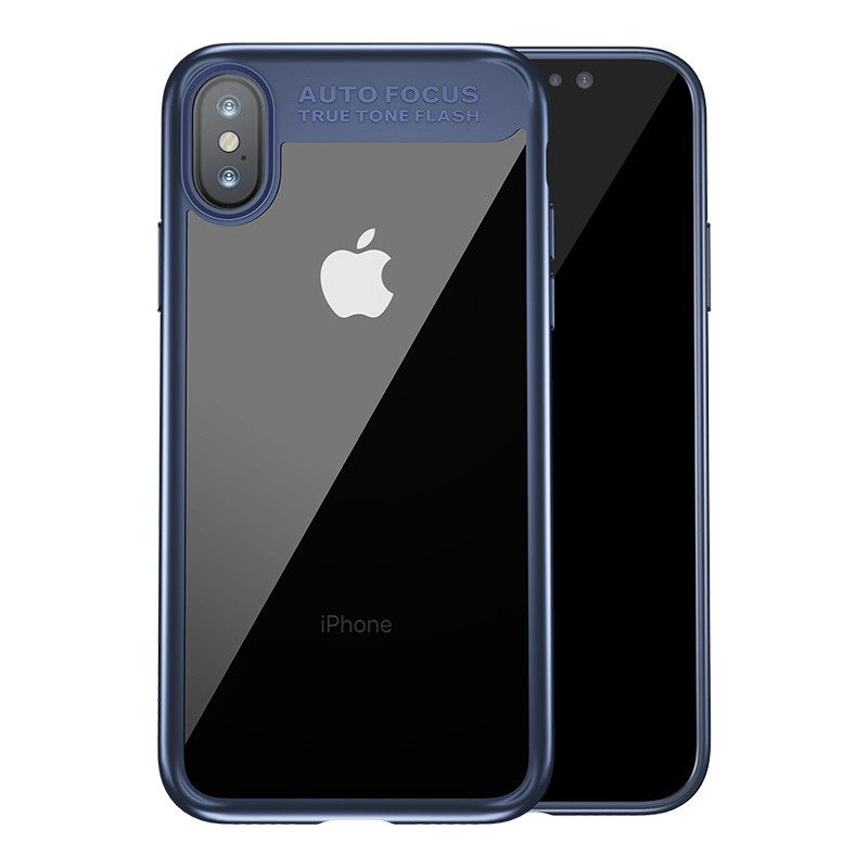 Baseus Suthin Case Dark Blue For iPhone X/XS