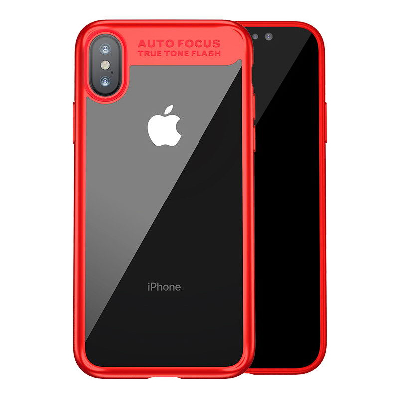 Baseus Suthin Case Red For iPhone X/XS (ARAPIPH8-SB09)