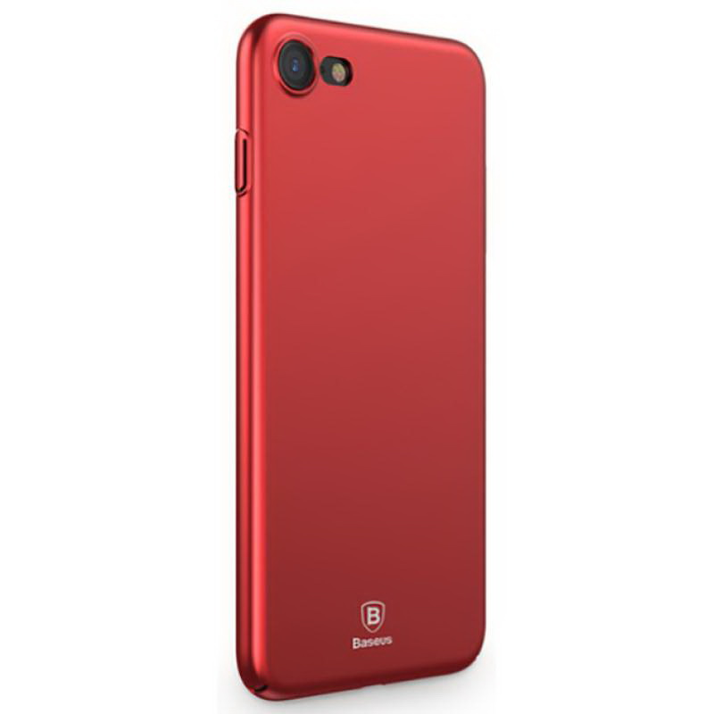 Baseus Thin Case For iPhone 7/8/SE 2020 Red (WIAPIPH7-AZB09)