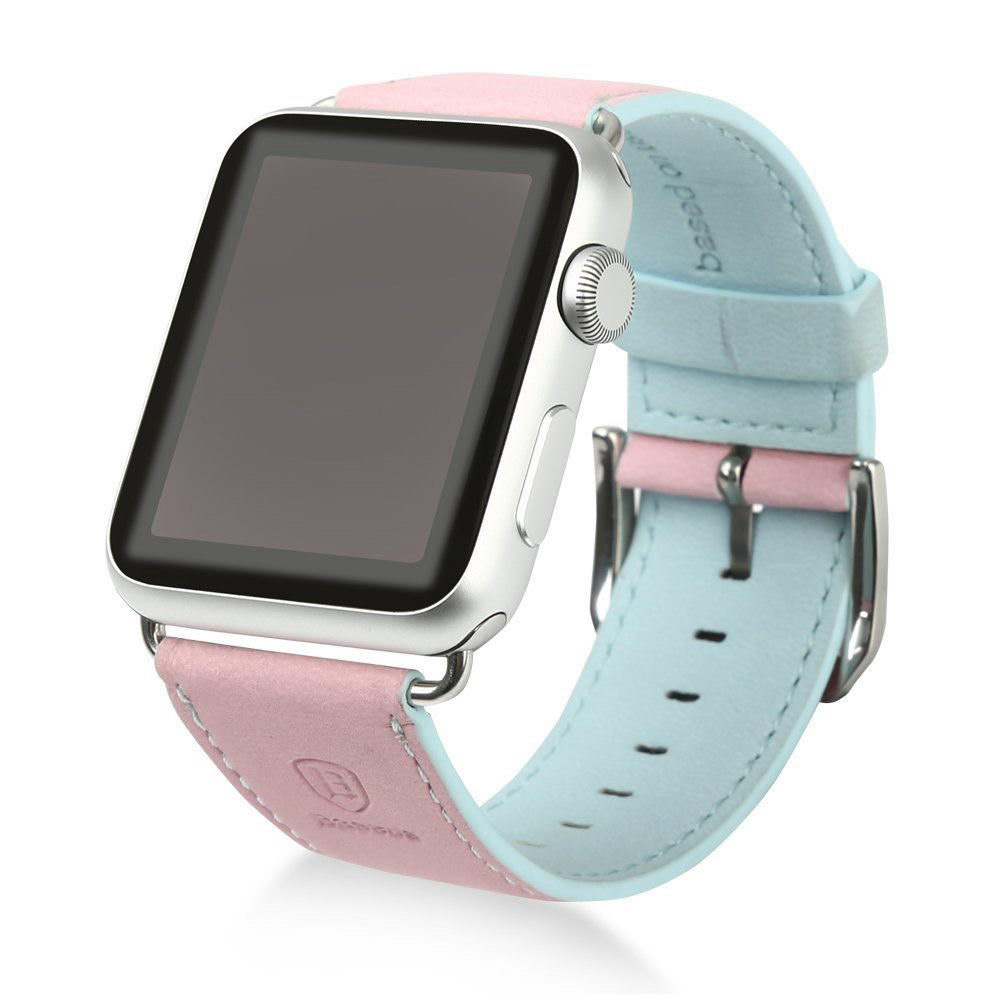 Baseus Colorful watchband For Apple watch 38mm Pink-blue