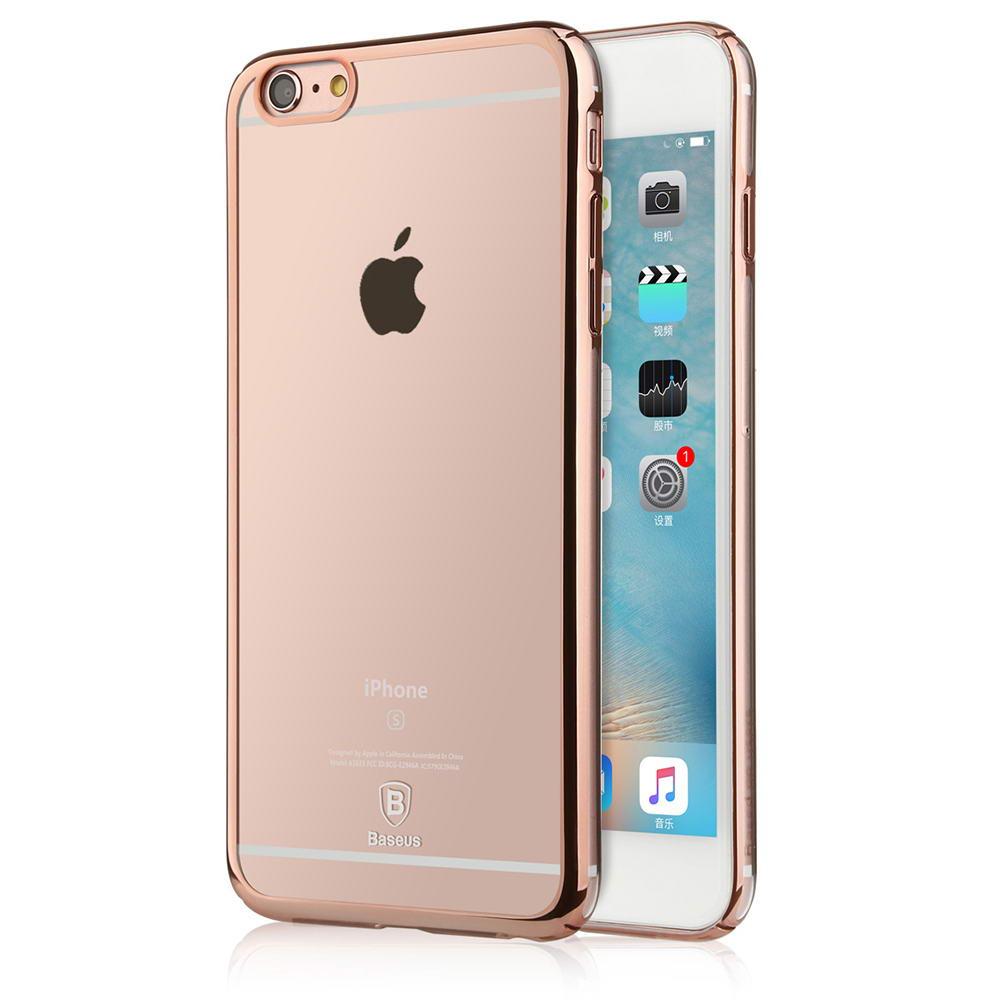 Baseus Glitter Case For iPhone 6/6S Rose Gold
