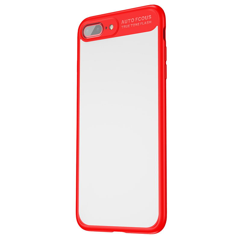 Baseus Mirror Case For iPhone 7 Plus Red (WIAPIPH7P-MJ09)