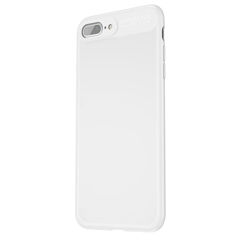 Baseus Mirror Case For iPhone 7 Plus White (WIAPIPH7P-MJ02)