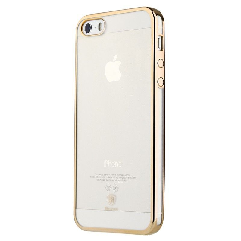 Baseus Shining Case For iphone 5/5S/SE Luxury Gold